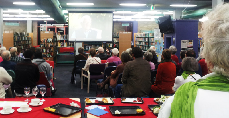 Some of the audience at the launch of the Berry mnesty Action Group 20 June 2014