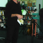 Bede Carmody of Amnesty International Australia launching the Berry Amnesty Group